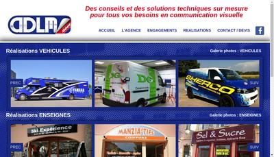 Site internet de L'Atelier de la Martre - Adlm