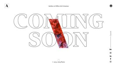 Site internet de Atelier et Office de Creation