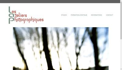 Site internet de Ateliers Photographiques