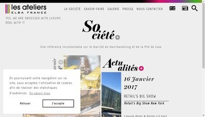 Site internet de Elba Plv