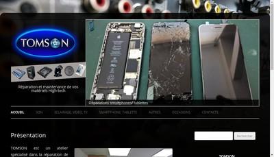 Site internet de Tomson