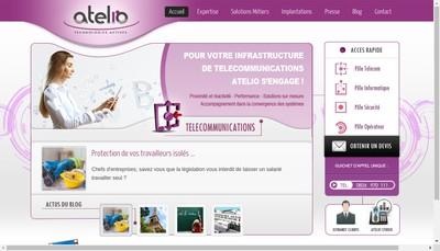 Site internet de Atelio