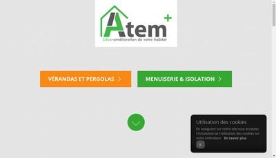 Site internet de Atem +
