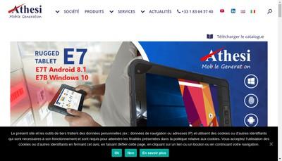 Site internet de Athesi