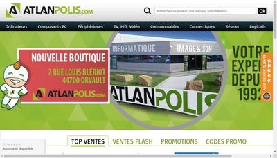 Site internet de Atlanpolis Com