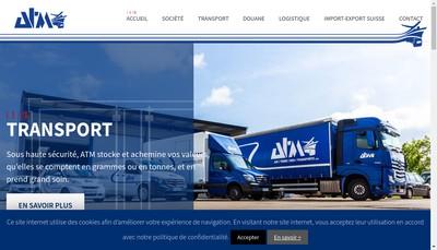 Site internet de Atm France