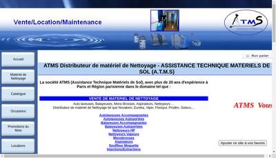 Site internet de Assistance Technique Materiels de Sol