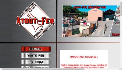 Site internet de Atout Fer Produits Metallurgiques