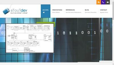 Site internet de Atoutdev