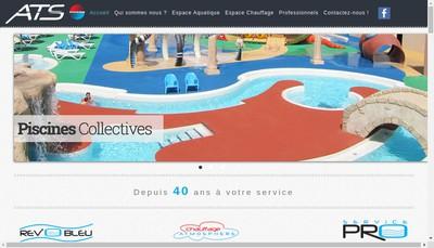 Site internet de Ats - Rev'O Bleu - Rev'Piscine