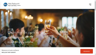 Site internet de Hotel Nuit de Retz