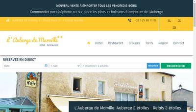 Site internet de Auberge de Marville