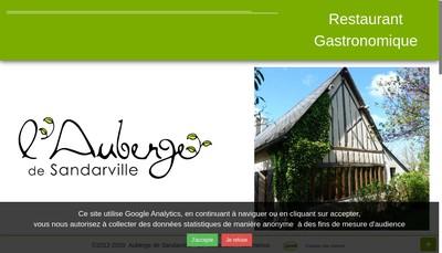 Site internet de SARL Auberge de Sandarville