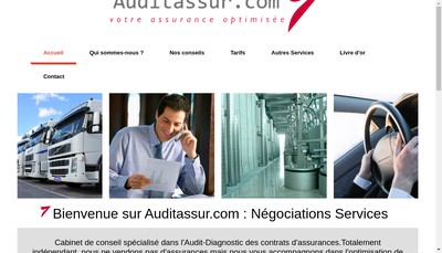 Site internet de Negociations Services
