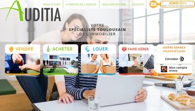 Site internet de Auditia Transaction