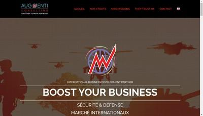 Site internet de SASU Augmenti