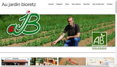 Site internet de Bioretz Plantive