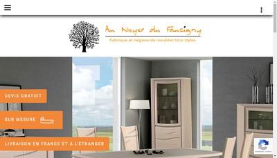 Site internet de Au Noyer du Faucigny