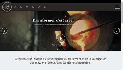 Site internet de Aureus