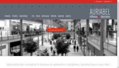 Site internet de Auriabel