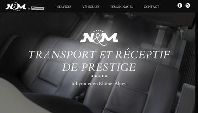 Site internet de Voyages N&M