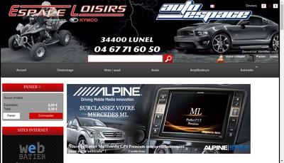 Site internet de Espace-Loisir