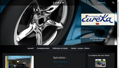 Site internet de Automobile Eureka