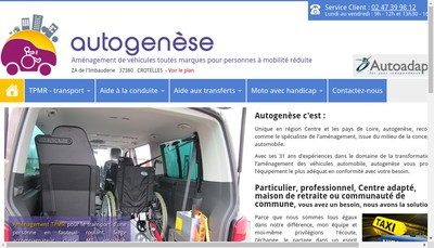 Site internet de Autogenese