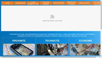 Site internet de Autologiste de France