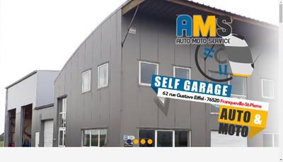 Site internet de Auto Moto Services