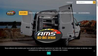 Site internet de Auto Multi Services
