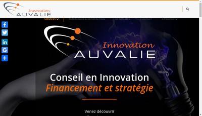 Site internet de Auvalie