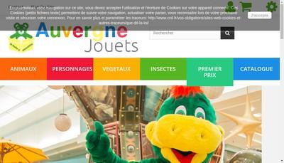 Site internet de Auvergne Jouets
