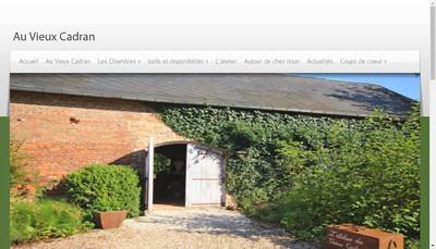 Site internet de Au Vieux Cadran