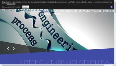 Site internet de Avantis Engineering