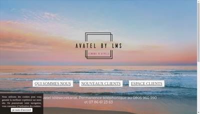 Site internet de Avatel - Lms