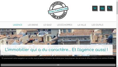 Site internet de Avec Cachet Com