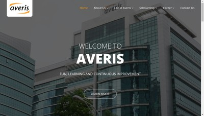 Site internet de Averis