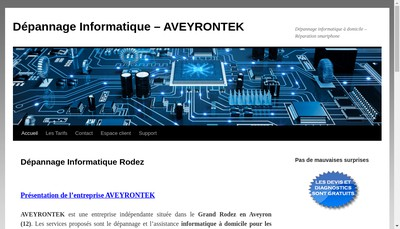 Site internet de Aveyrontek