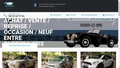 Site internet de Avron