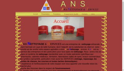 Site internet de Awa Nettoyage et Services