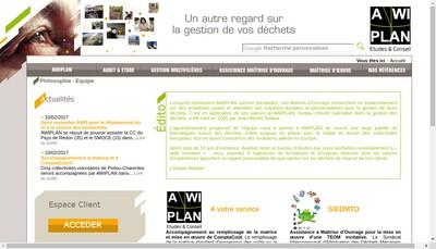 Site internet de Awiplan