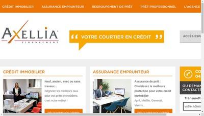 Site internet de Axellia