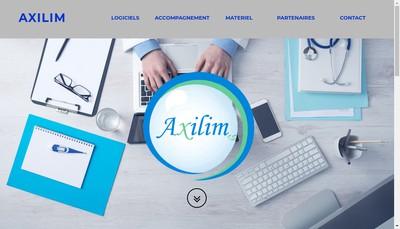 Site internet de Axilim