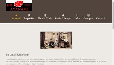 Site internet de Ayanami