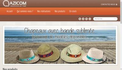 Site internet de Azicom