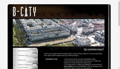 Site internet de B City