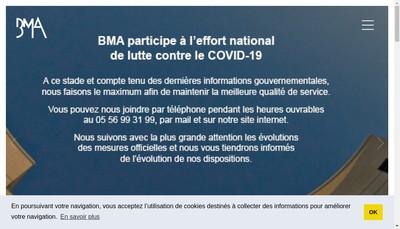 Site internet de Bordeaux Metropole Amenagement