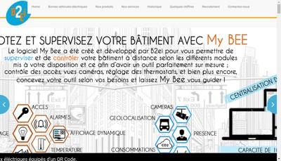 Site internet de SAS B2Ei