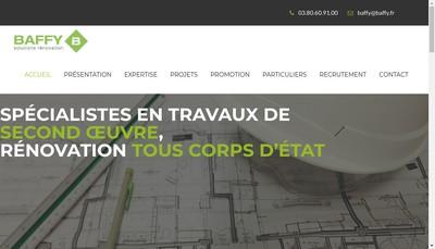 Site internet de SAS Baffy